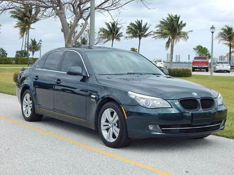 2010 BMW 5 Series for sale at VE Auto Gallery LLC in Lake Park FL