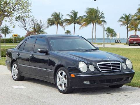 2002 Mercedes-Benz E-Class for sale at VE Auto Gallery LLC in Lake Park FL
