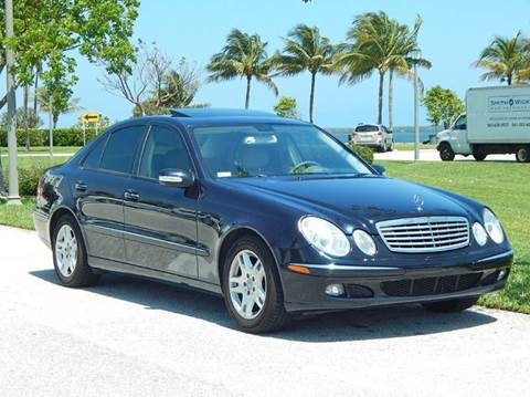 2005 Mercedes-Benz E-Class for sale at VE Auto Gallery LLC in Lake Park FL