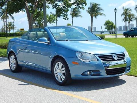 2007 Volkswagen Eos for sale at VE Auto Gallery LLC in Lake Park FL