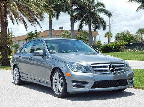 2013 Mercedes-Benz C-Class for sale at VE Auto Gallery LLC in Lake Park FL