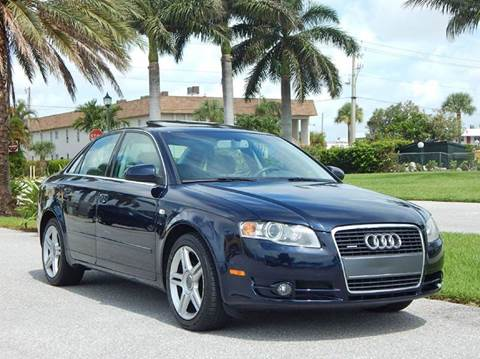 2007 Audi A4 for sale at VE Auto Gallery LLC in Lake Park FL