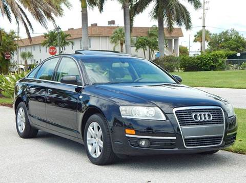 2006 Audi A6 for sale at VE Auto Gallery LLC in Lake Park FL