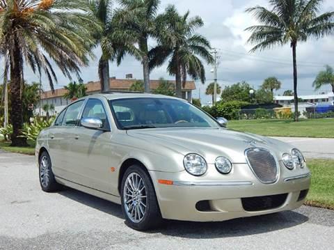 2008 Jaguar S-Type for sale at VE Auto Gallery LLC in Lake Park FL