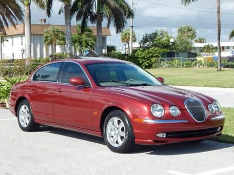2004 Jaguar S-Type for sale at VE Auto Gallery LLC in Lake Park FL