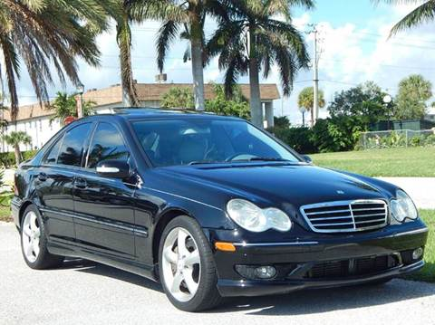 2005 Mercedes-Benz C-Class for sale at VE Auto Gallery LLC in Lake Park FL