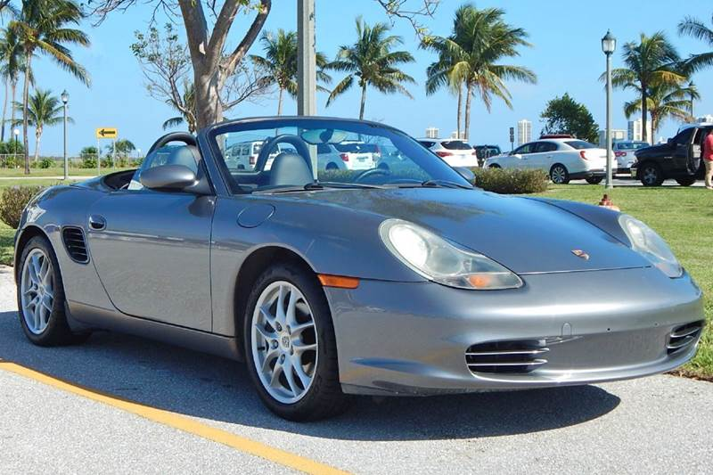 2003 Porsche Boxster for sale at VE Auto Gallery LLC in Lake Park FL