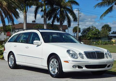 2004 Mercedes-Benz E-Class for sale at VE Auto Gallery LLC in Lake Park FL