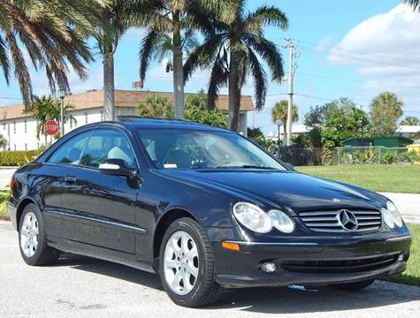 2003 Mercedes-Benz CLK for sale at VE Auto Gallery LLC in Lake Park FL