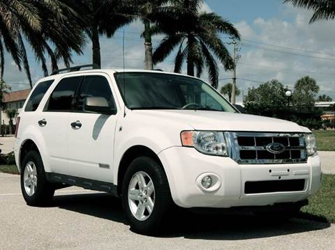 2008 Ford Escape Hybrid for sale at VE Auto Gallery LLC in Lake Park FL