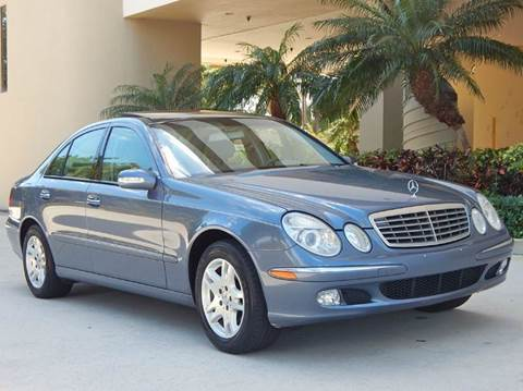 2003 Mercedes-Benz E-Class for sale at VE Auto Gallery LLC in Lake Park FL