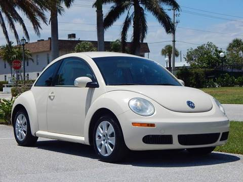 2008 Volkswagen New Beetle for sale at VE Auto Gallery LLC in Lake Park FL