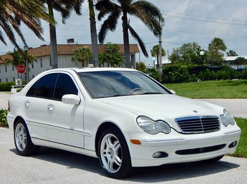 2004 Mercedes-Benz C-Class for sale at VE Auto Gallery LLC in Lake Park FL