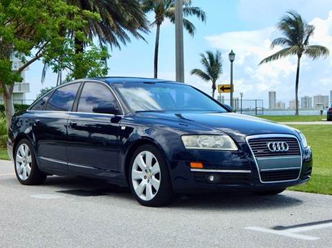 2005 Audi A6 for sale at VE Auto Gallery LLC in Lake Park FL