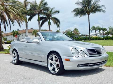 2000 Mercedes-Benz CLK for sale at VE Auto Gallery LLC in Lake Park FL