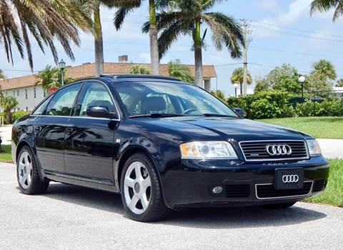 2004 Audi A6 for sale at VE Auto Gallery LLC in Lake Park FL