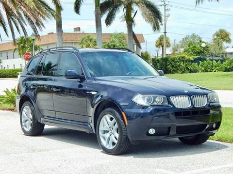 2007 BMW X3 for sale at VE Auto Gallery LLC in Lake Park FL