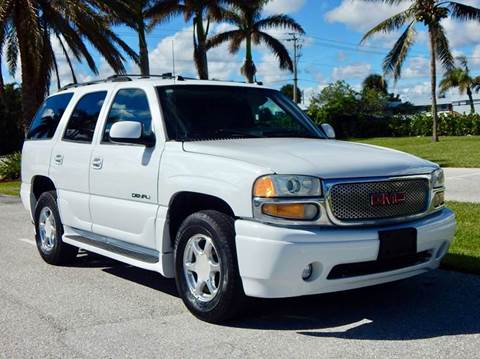 2004 GMC Yukon for sale at VE Auto Gallery LLC in Lake Park FL