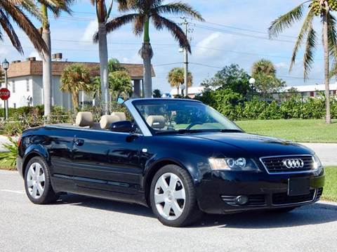 2004 Audi A4 for sale at VE Auto Gallery LLC in Lake Park FL
