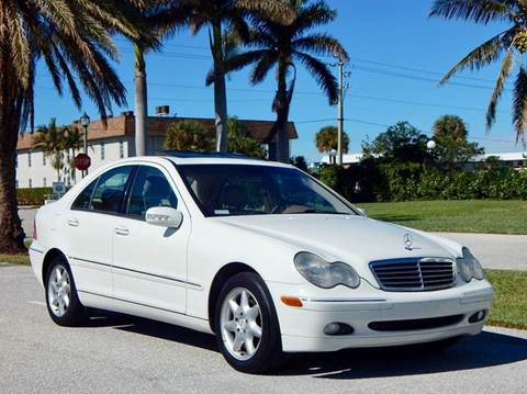 2003 Mercedes-Benz C-Class for sale at VE Auto Gallery LLC in Lake Park FL
