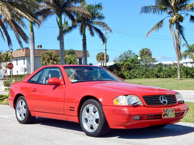 2000 Mercedes-Benz SL-Class for sale at VE Auto Gallery LLC in Lake Park FL