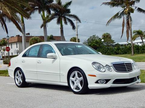 2009 Mercedes-Benz E-Class for sale at VE Auto Gallery LLC in Lake Park FL