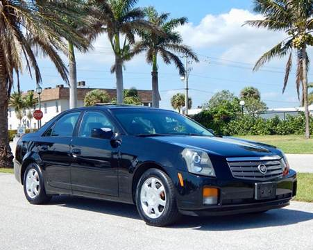 2004 Cadillac CTS for sale at VE Auto Gallery LLC in Lake Park FL