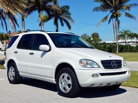 2003 Mercedes-Benz M-Class for sale at VE Auto Gallery LLC in Lake Park FL