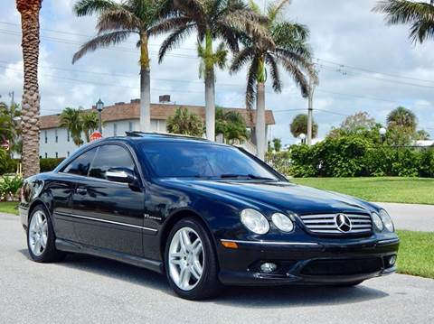2003 Mercedes-Benz CL-Class for sale at VE Auto Gallery LLC in Lake Park FL