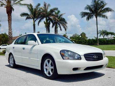 2003 Infiniti Q45 for sale at VE Auto Gallery LLC in Lake Park FL