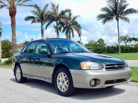 2002 Subaru Outback for sale at VE Auto Gallery LLC in Lake Park FL