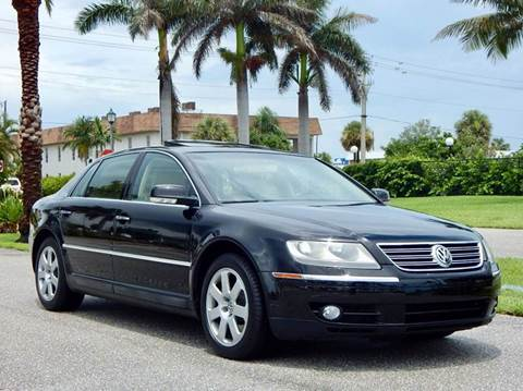 2004 Volkswagen Phaeton for sale at VE Auto Gallery LLC in Lake Park FL
