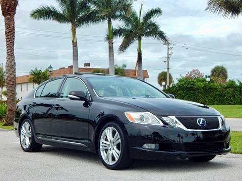 2008 Lexus GS 450h for sale at VE Auto Gallery LLC in Lake Park FL