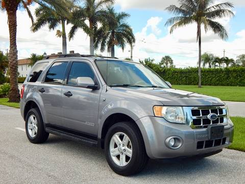 Ford Escape Hybrid For Sale >> 2008 Ford Escape Hybrid For Sale In Lake Park Fl
