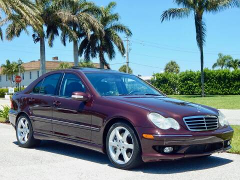 2007 Mercedes-Benz C-Class for sale at VE Auto Gallery LLC in Lake Park FL