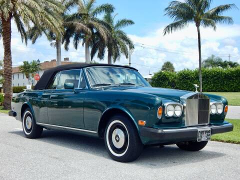 1977 Rolls-Royce Corniche for sale at VE Auto Gallery LLC in Lake Park FL