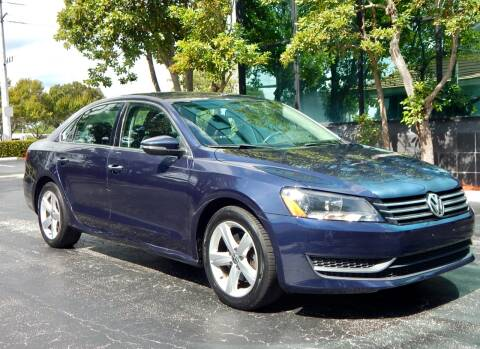 2012 Volkswagen Passat for sale at VE Auto Gallery LLC in Lake Park FL