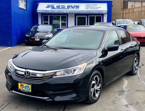 2016 Honda Accord for sale in Malden, MA