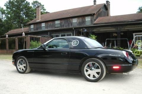 2002 ford thunderbird for sale in texas for Thunderbird motors san antonio tx