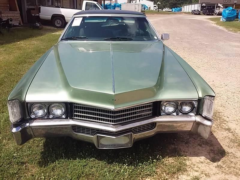 1970 Cadillac Eldorado In Linden TX - ED\'S AUTO SALES