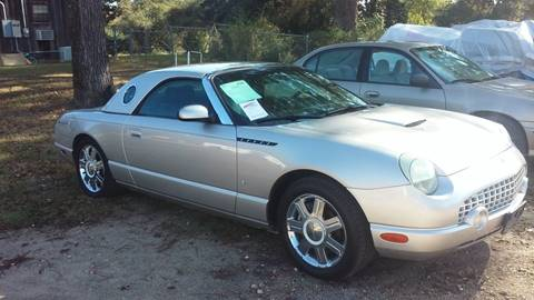 used 2004 ford thunderbird for sale in texas. Black Bedroom Furniture Sets. Home Design Ideas