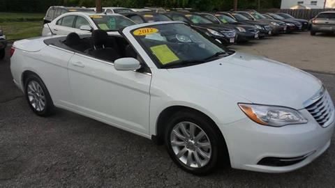 2012 Chrysler 200 Convertible for sale in Upper Marlboro, MD