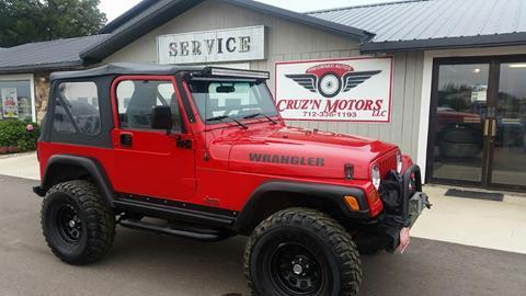 1997 Jeep Wrangler for sale in Spirit Lake, IA