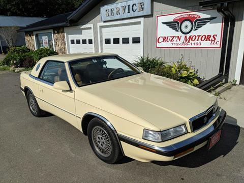 1989 Chrysler TC for sale in Spirit Lake, IA