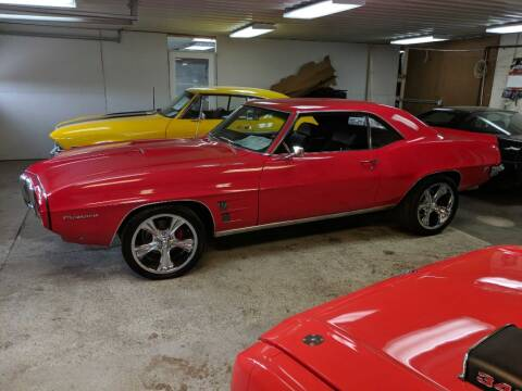 1969 Pontiac Firebird for sale at CRUZ'N MOTORS - Classics in Spirit Lake IA
