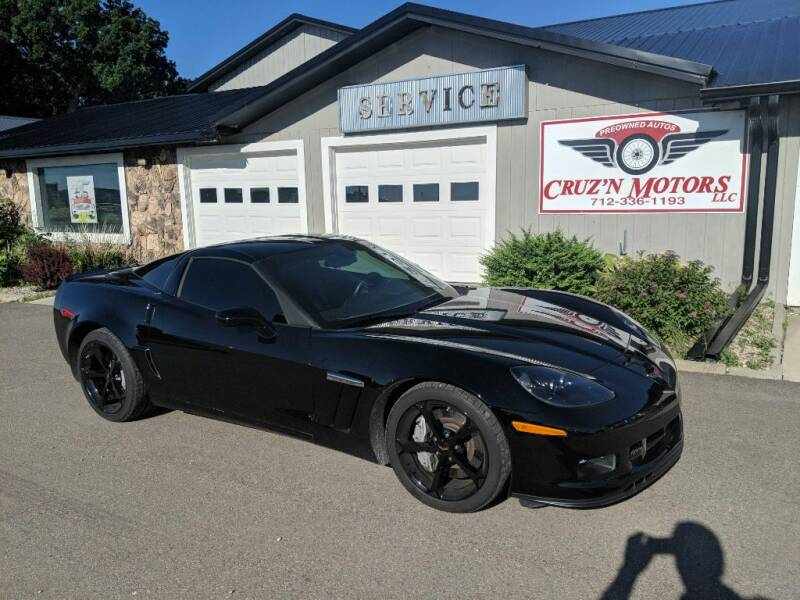 2013 Chevrolet Corvette for sale at CRUZ'N MOTORS in Spirit Lake IA
