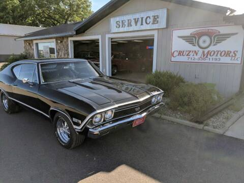 1968 Chevrolet Chevelle for sale at CRUZ'N MOTORS - Classics in Spirit Lake IA