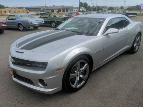 2010 Chevrolet Camaro for sale at CRUZ'N MOTORS - Classics in Spirit Lake IA