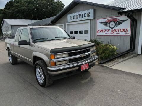 1998 Chevrolet C/K 1500 Series for sale at CRUZ'N MOTORS in Spirit Lake IA