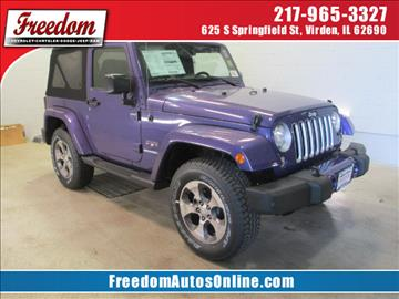 2017 Jeep Wrangler for sale in Virden, IL